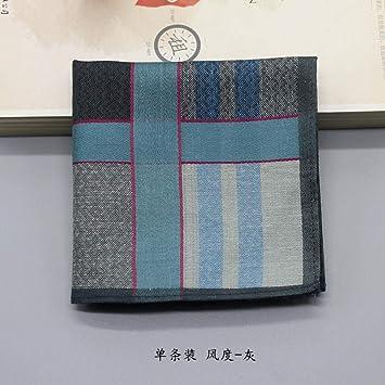Pañuelo de algodón pañuelo de hombre traje bufanda suave-Single ...