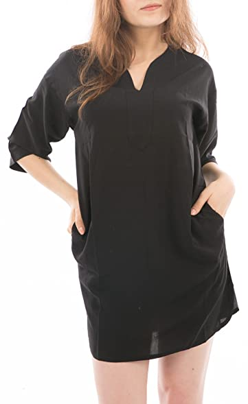 Dress for Women, Evening Cocktail Party On Sale, Black, Viscose, 2017, 6 Essentiel