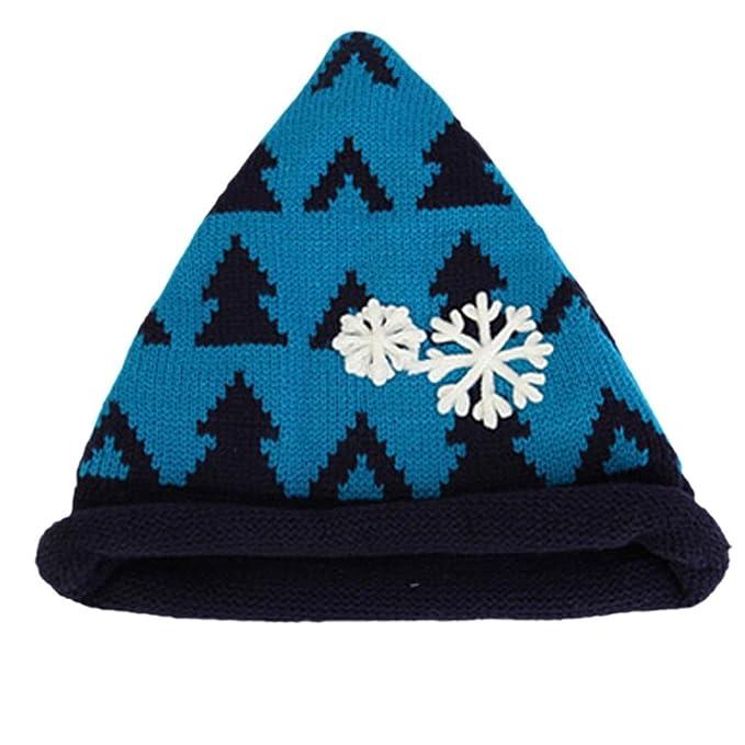 Hunpta Baby Kleinkind Winter Mütze Snowflake Weihnachtsbaum Häkeln