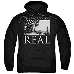 The Word Alive Live Shot Black Pullover Hoodie (XX-Large)
