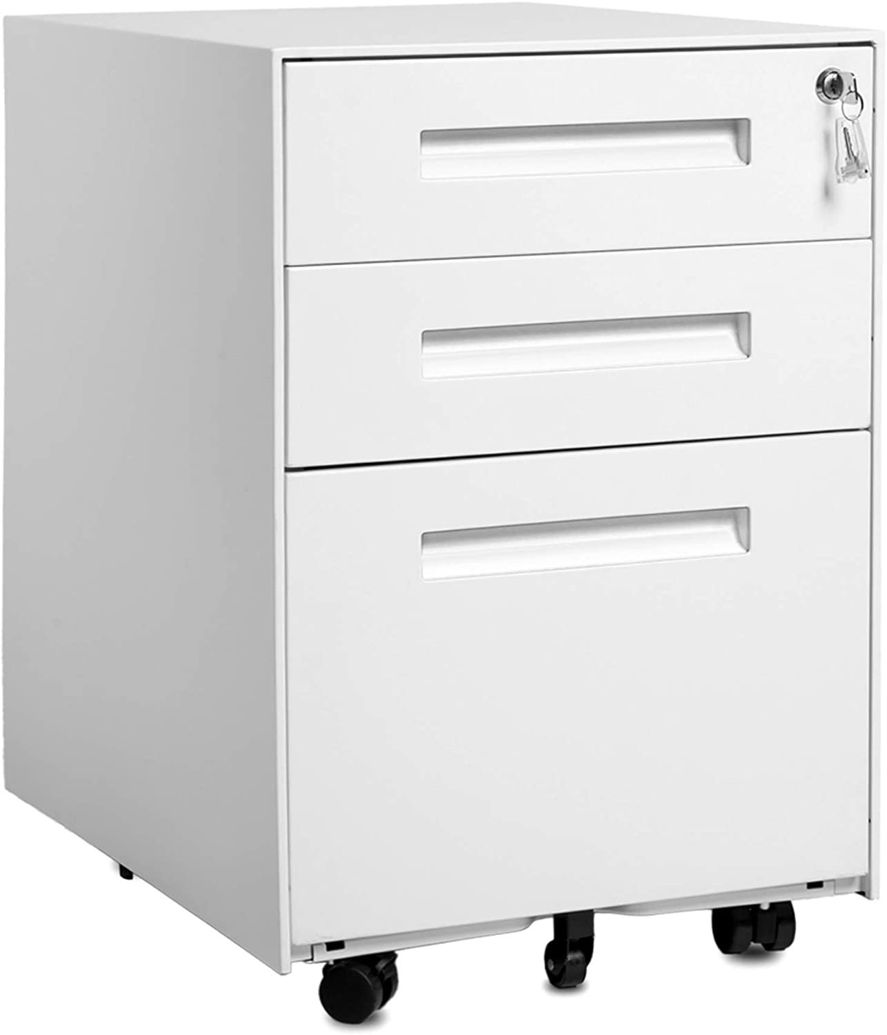 Amazon.com: Steel File Cabinet with 36 Drawers and Keys Lock Mobile