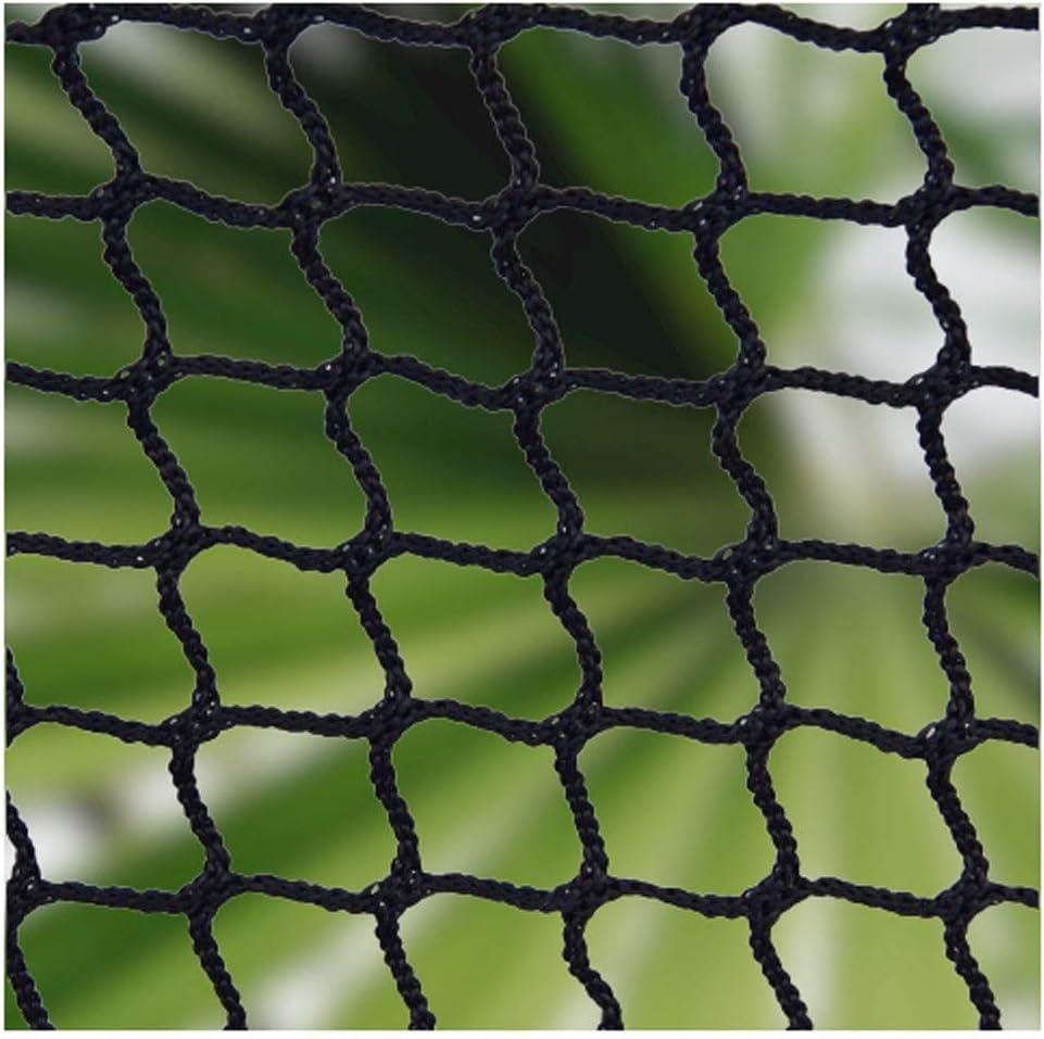 Red de Cuerda,Red Escalera Bebe de Terraza Seguridad Niños Deportes Escaleras Cuerda Negra Protección Gatos para Balcones Malla Nylon Goal Net Nets Redes Bola Campo Aire Libre Futbol Golf Bola: Amazon.es: Hogar
