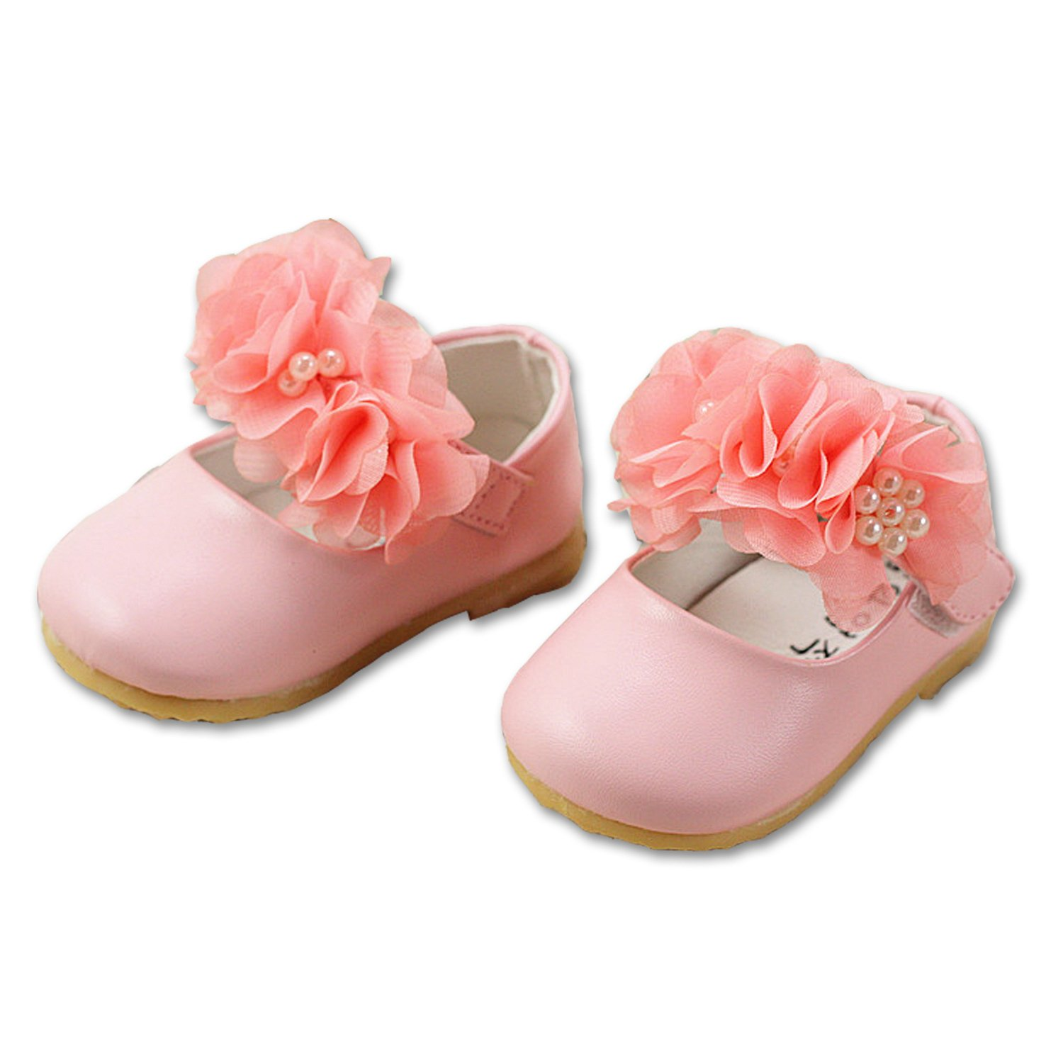 Cinda Baby Girls Synthetic and Rubber Shoes