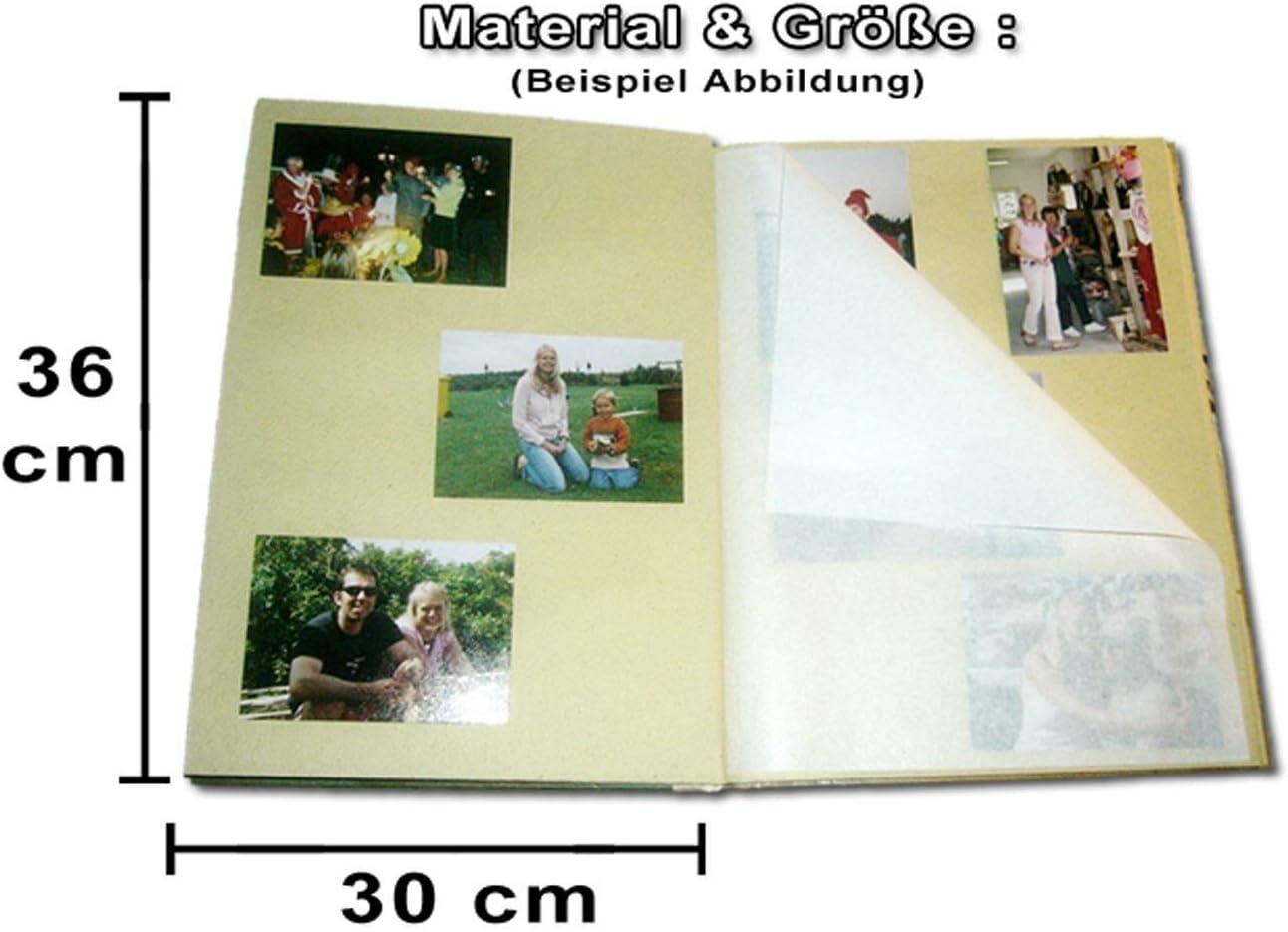 Tropisches Fotoalbum Natur Album von Bali 30 Seiten Photoalbum Palmen Motiv M