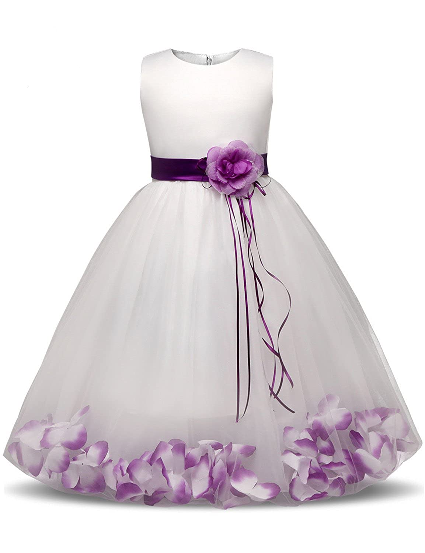 012874abbcc08 Amazon.com: Doris Batchelor Nice Kids Party Costume For Girls Prom Dresses  Children's Clothing Girl 10 Years Princess Flower Dress For Wedding Birthday  ...
