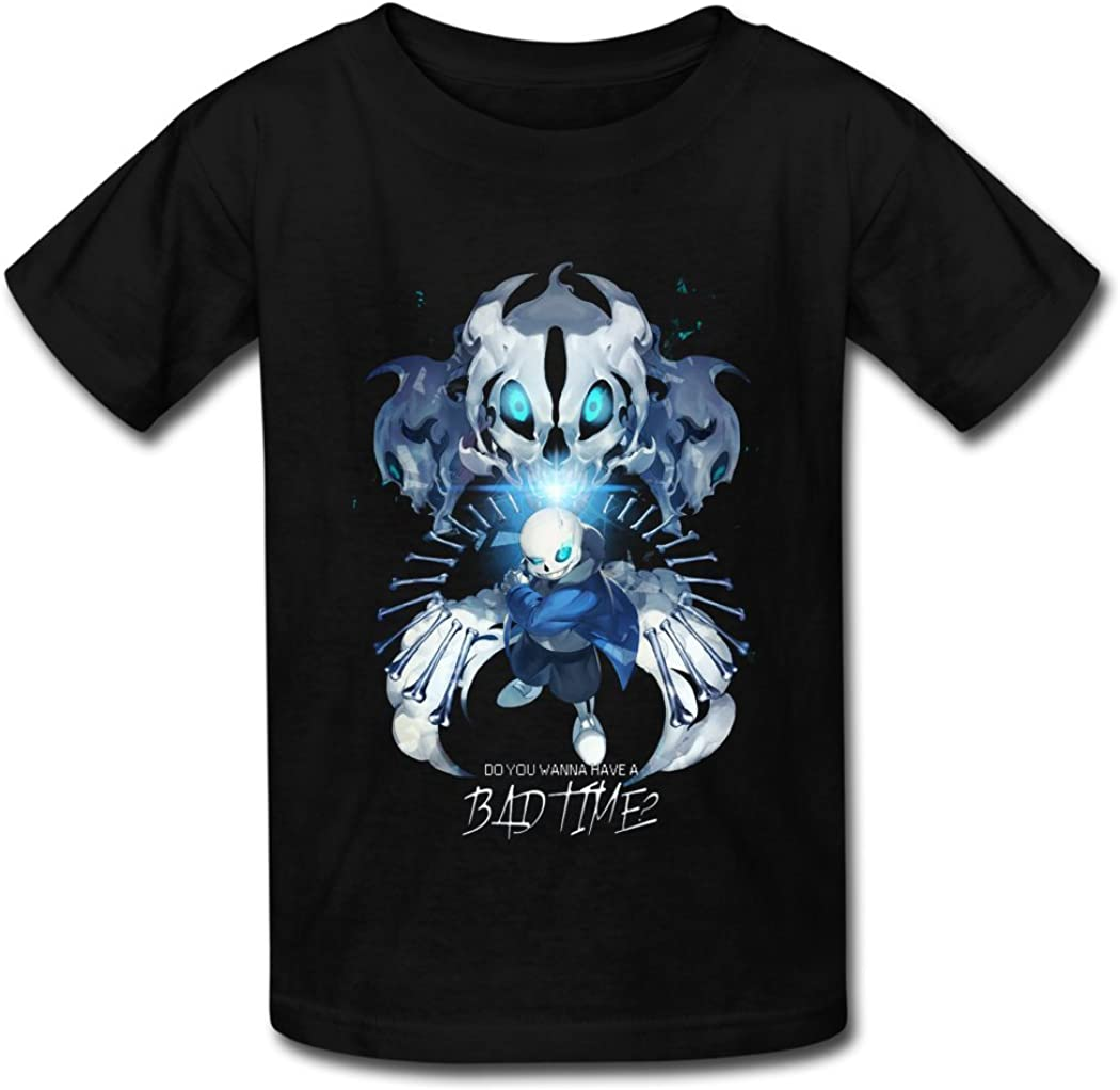 White Personalised Childrens Boys Girls Undertale Pixel T-Shirt