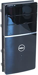 Dell K161G Black Glossy Sleek Chassis Bezel Computer Case Face Name Plate For The Vostro 220 Mini Tower (MT)