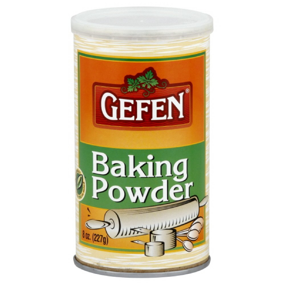 Gefen Baking Powder, Passover, 8-Ounce (Pack of 4)