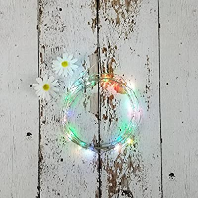 LED Starry String Lights, illumiForce Battery Operated Fairy Lights, 32.8ft 100LEDs, 8 Light Modes With Remote Control, Decorations for Bedroom Patio Party Thanksgiving Christmas