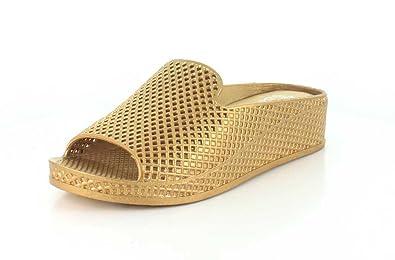 02bb324183 Amazon.com   Jeffrey Campbell Womens Fling-2 Open Toe Casual Slide Sandals    Slides