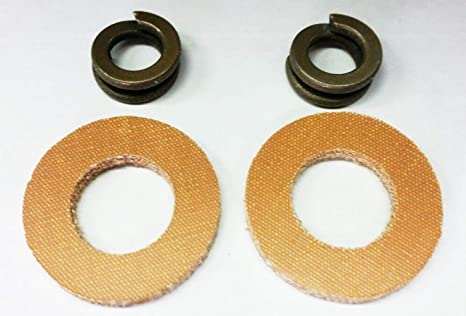 Amazon.com : MAREEYA SHOP Mercruiser OEM Alpha, Bravo Fiber Washer Spacer  12-32834 Lock Washer 13-33734 These are for Under The Bell housing top of transom  Plate Where The Bolt goes Through asAmazon.com