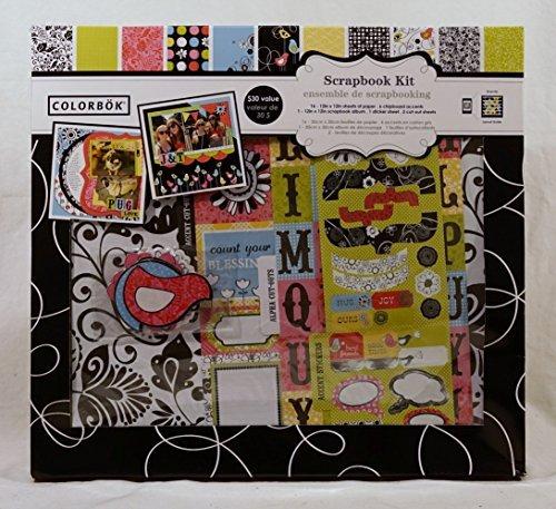 - COLORBOK Scrapbook Kit - Bright Bird