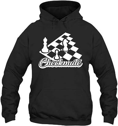 FDLB Men Funny Rook Chess Piece Checkmate Visor Classic Hoodie Hoodies Black