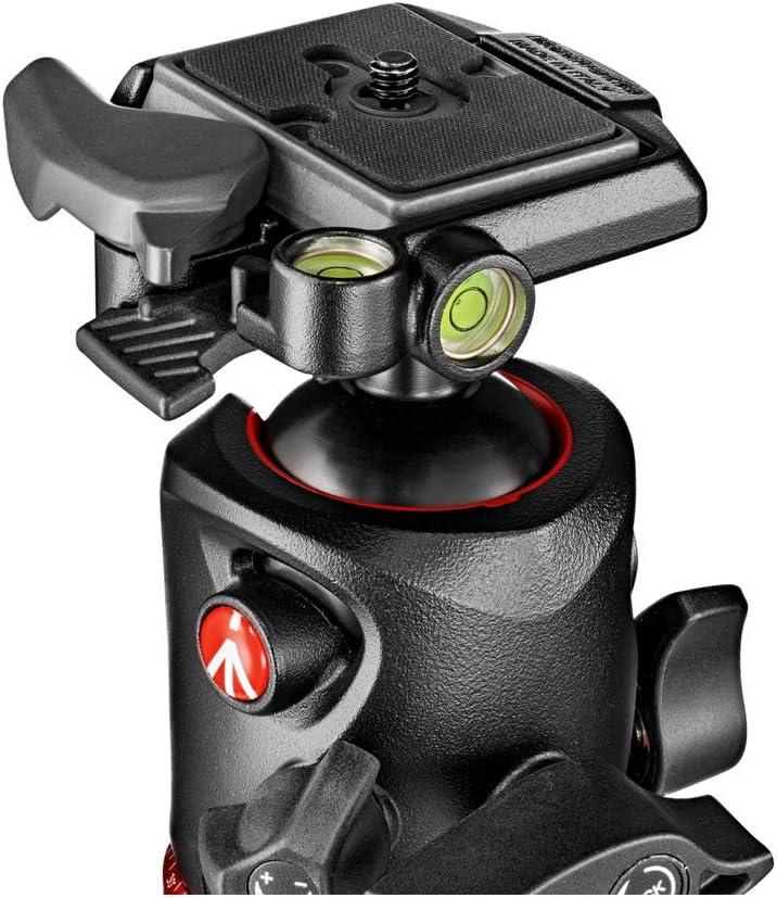 Black Manfrotto MT190CXPRO4 Carbon Fiber 4-Section Tripod