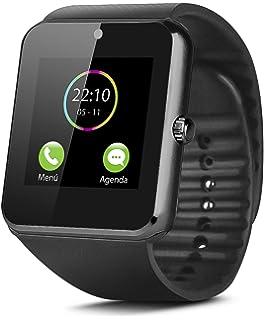 MallTEK Android Smartwatch Bluetooth con Tarjeta TF / SIM ...