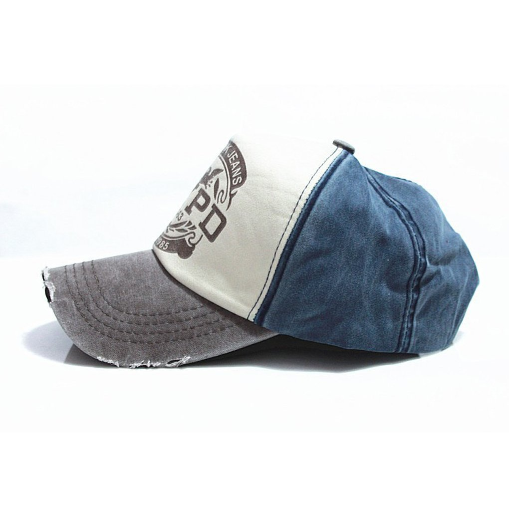 Bobury Casquillo cabido del Sombrero de Hip Hop del Camionero Gorras De Camionero Gorras Unisex del algod/ón de Gorras Hombre