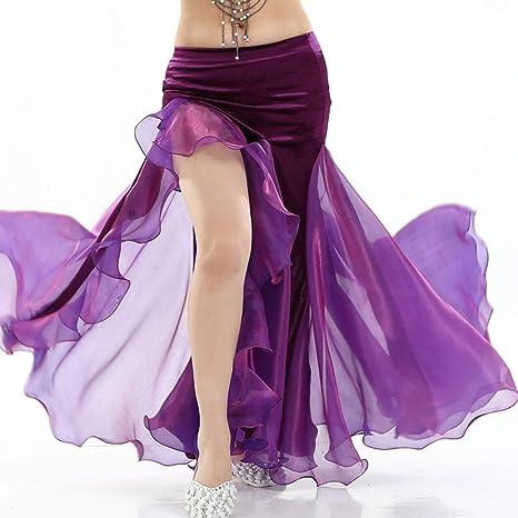 EVERAIE Vestido de Baile de la Borla de Las señoras Latina Falda ...