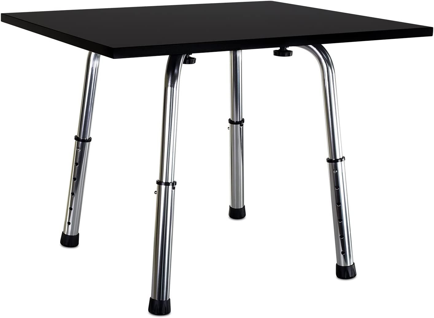 Mount-It Tabletop Standing Desk Extension with Height Adjustable Legs, 24×20 Inch Riser for Laptops, Keyboards and Monitor – Convert Your Desk Top to A Standing Desk