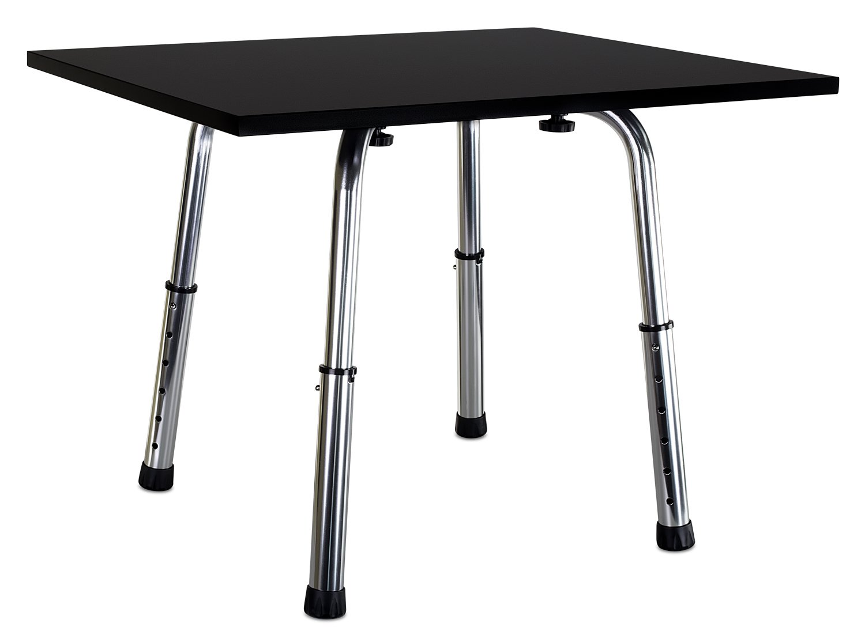 Mount-It! Standing Desk Height Adjustable Tabletop Standing Desk Converter, 24x20 Large Desktop Workstation, Black (MI-7932)