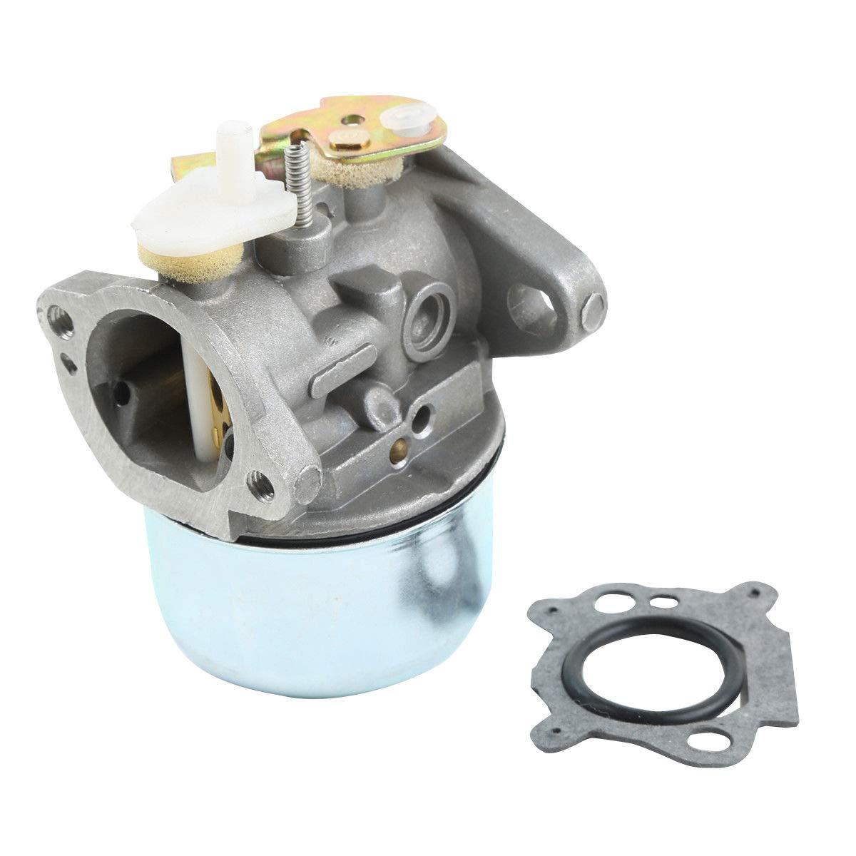 TCMT Carburetor Fit For Briggs /& Stratton 499059 497586 Gasket /& Choke Lawnmower Carb