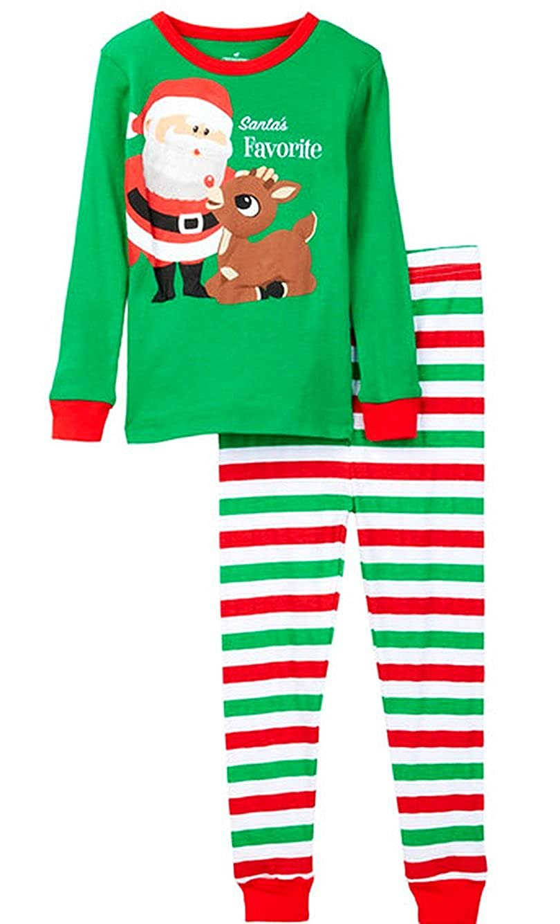 Rudolph Boys Santas Favorite Helper Christmas Pajama Set