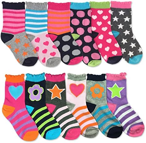 Jefferies Socks Hearts Fashion Variety
