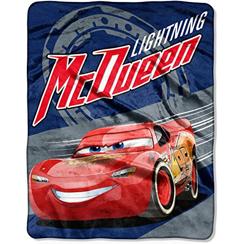 disney cars movie 3 soft throw blanket for kids lightning mcqueen 40 x 50