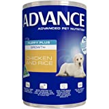 Advance Puppy Growth Chicken Rice Food Cans, 12 Can