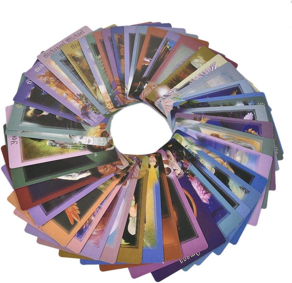 /Édition Anglaise Ecisi Keepers of The Light Jeu de Cartes Oracle Cartes Cartes de Tarot Cartes de Jeu de Cartes Mini-Cartes de Cartes 44pcs