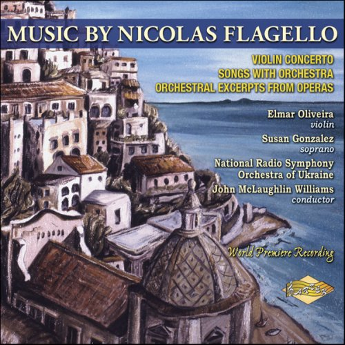 Music By Nicolas Flagello: Violin