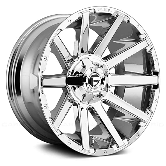 Amazon Com Fuel D614 Contra 22x12 8x180 44mm Chrome Wheel Rim
