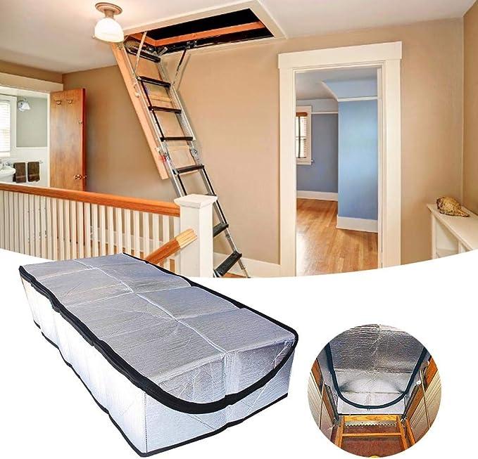 Ablerfly Cubierta de Aislamiento para escaleras de ático 25