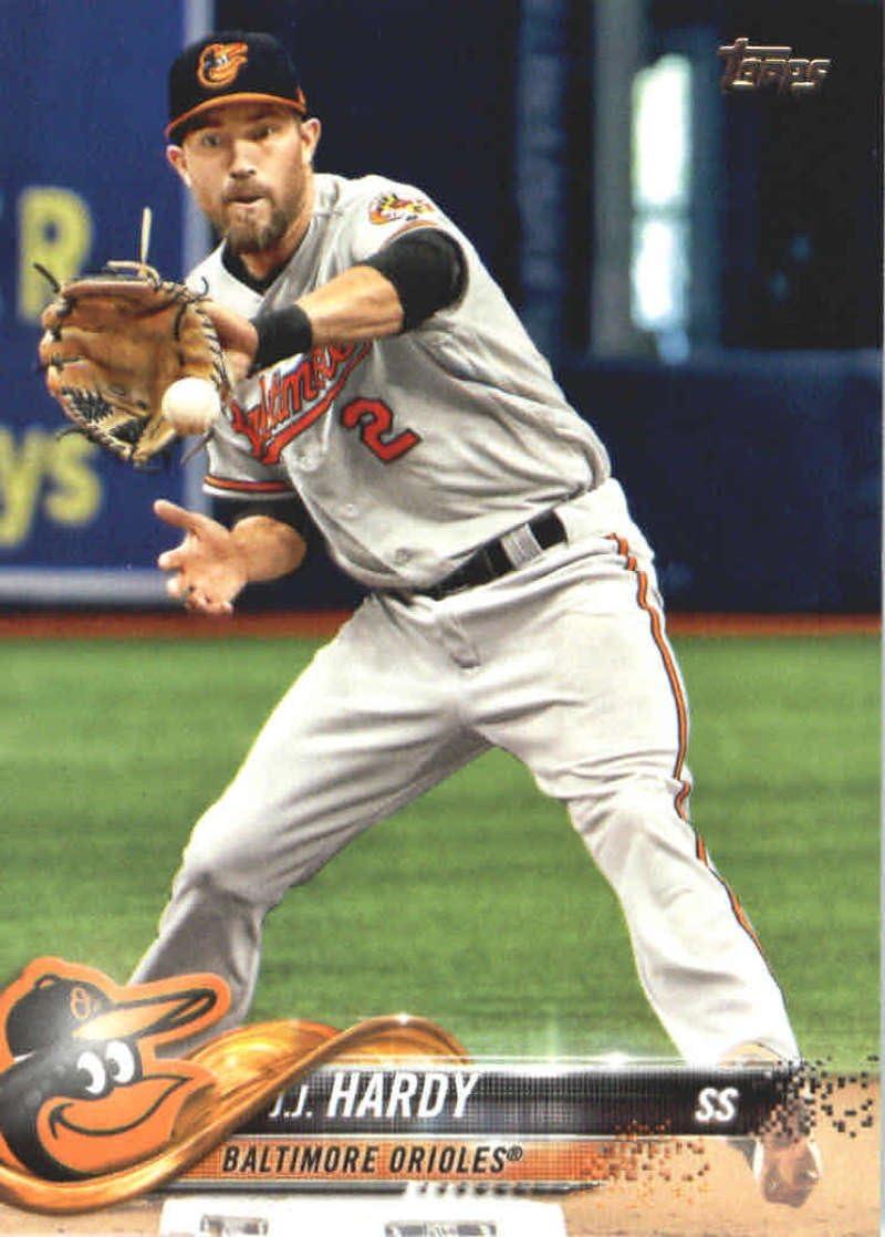 Amazon.com: 2018 Topps Series 2#437 J.J. Hardy Baltimore Orioles ...