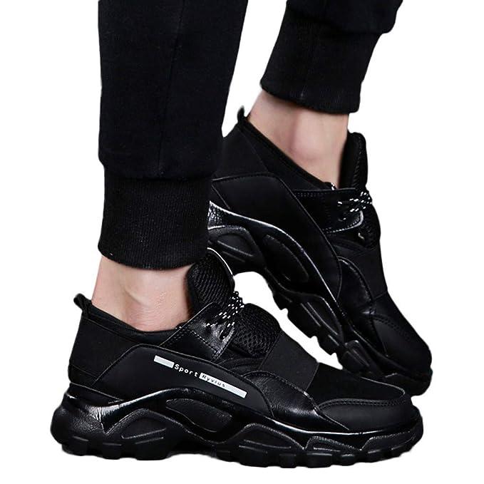 Bestow Zapatos de Malla Blanda Transpirable de Malla Tejida para Hombres Que vuelan Zapatos Transpirables Zapatillas: Amazon.es: Ropa y accesorios