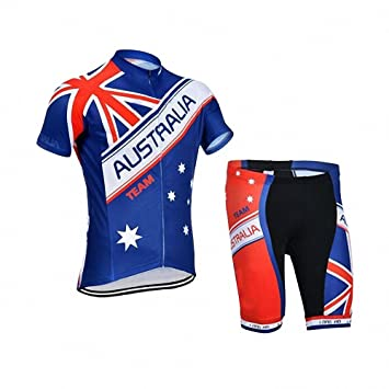 Amazon.com: Hombre Ciclismo Ropa Maillots, Team Australia ...