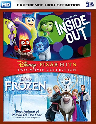 Inside Out and Frozen  3D