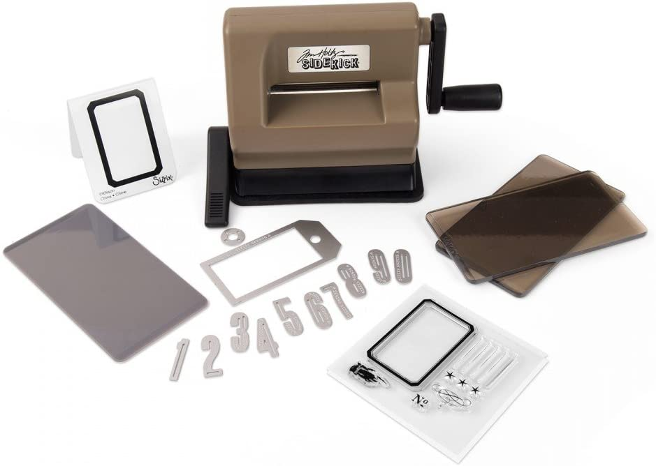 Sizzix Sidekick Starter Kit Manual Die Cutting