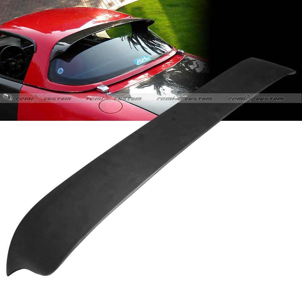 1990 - 1997 Mazda Miata Hard Top Roof Spoiler Wing ABS Black 91 92 93 94 95 96 Remix Custom