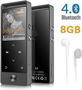 Reproductor MP3 Mini Digital Mp3 Touch Oledscreen 8 Gb