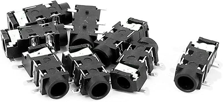 Pack of 100 6 PRE-CRIMP A3049 WHITE 0008500113-06-W6-D