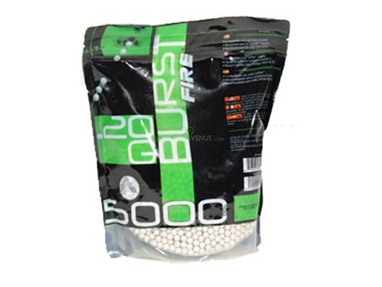 Burst billes 0.20gr blanches - burst - sac de 5000 804920