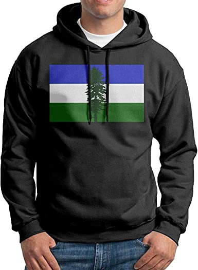 Gppp899 Mens Pullover Hoodies Moose New Mexico Flag Long Sleeve Fleece Hooded Sweatshirt Sweater Blouses Tops