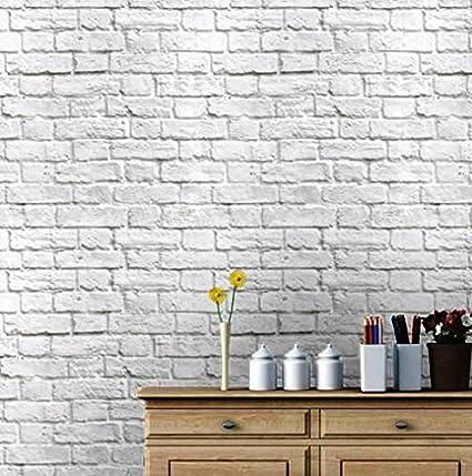 Eurotex Vinyl Coated Wallpaper (50.01 cm x 10 cm x 10 cm, White)