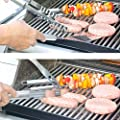 Stainless Steel BBQ Grill Tools Set with Premium Aluminum Case - 10 Heavy Duty Professional-Quality Grill Utensils/Barbecue Tools for Complete Outdoor Grilling | In a Portable Case