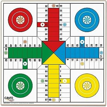 Cayro - Tablero Parchís 4 y 6 jugadores - Juego de tradicional - juego de mesa - Desarrollo de habilidades cognitivas - Juego de mesa (T-134): Amazon.es: Juguetes y juegos