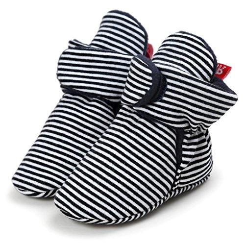Krippe Igemy 1Paar Schuhe Kleinkind Soft Sole Schnee Soft Schwarz Baby Stiefel wqUPrqTX