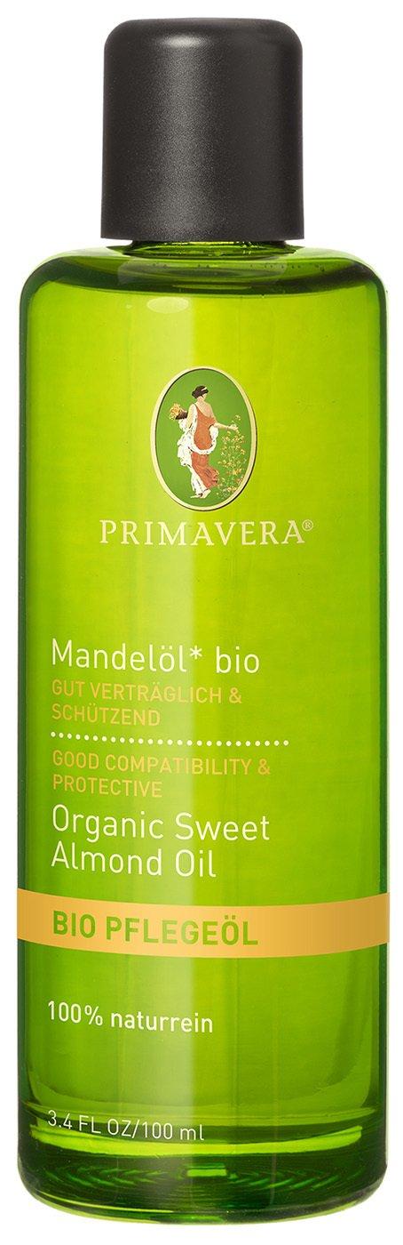 Primavera Almond Oil Sweet Vegan Organic 3.38oz