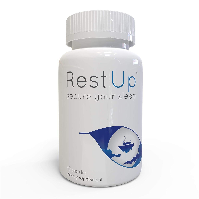 Amazon.com: RestUp by Alternascript, Melatonin, 5-HTP, Non-Habit Forming Sleep Supplement 1-Pack, (30 Ct): Health & Personal Care