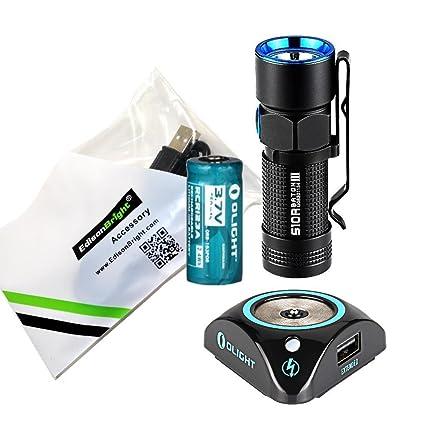 Amazon.com: Olight S10R III macana 600 lúmenes Linterna LED ...
