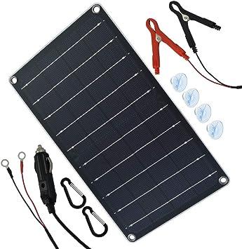 Amazon.com: TP-solar - Panel solar de 10 W, 12 V, cargador ...